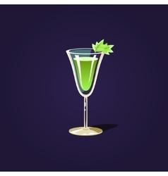 Herbal Cocktail vector