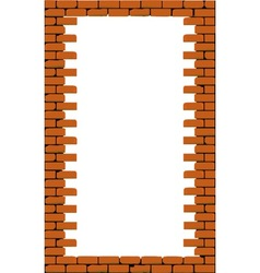 Hole in a Brick Wall vector