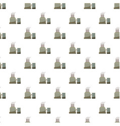 Large chemical plant pattern vector