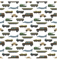 Military transport vehicle technic army war vector