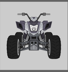 Motor atv sherp monster vector
