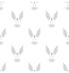 New Bird seamless pattern vector image