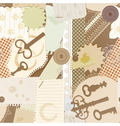 Scrapbook design elements vector
