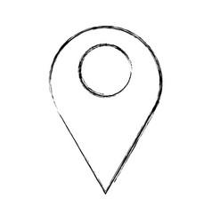symbol uncolored vector image