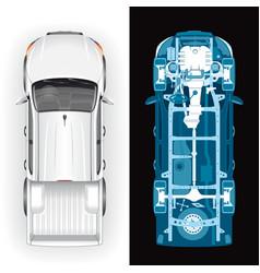 Vehicle diagnostics using x-ray vector