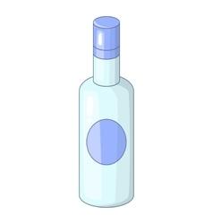 Vodka icon cartoon style vector