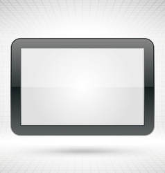 white clean frame vector image