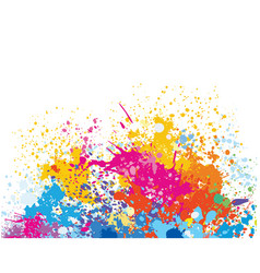 element for design from paint stains vector image vector image