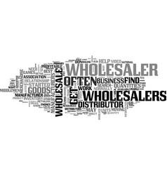 Wholesale steps to find a profitable wholesaler vector