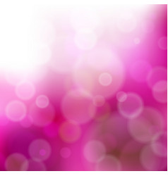 abstract blurred purple background with bokeh vector image