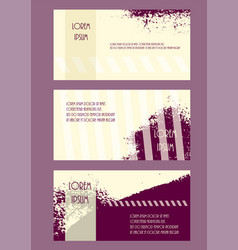 Abstract brochure headpage templates flyer grunge vector