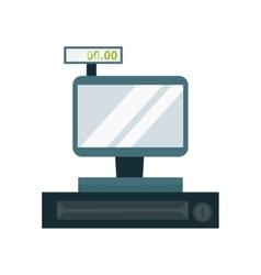 Cash dispenser vector image