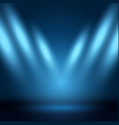 Display background with spotlights vector