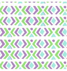 ethnic pattern aztec geometric background vector image