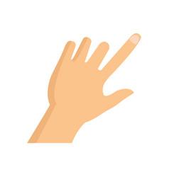 hand icon vector image
