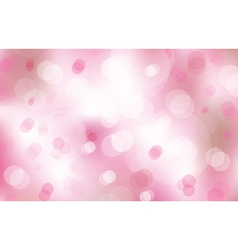 Lights on pink background vector