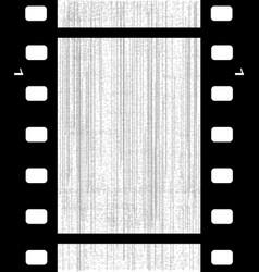 old blank film frame vector image