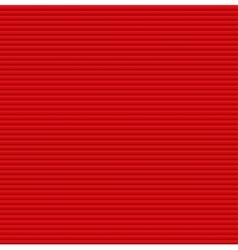 Red galousie Volume of horizontal lines vector