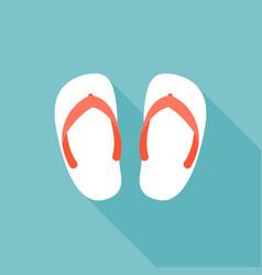 sandal icon vector image