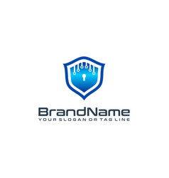 Security logo designs vector