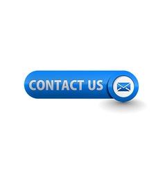 web contact icon vector image vector image