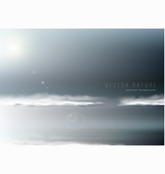 abstract background with restless seascape in vector image