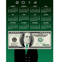 2014 100 Ben Calendar vector