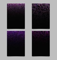 abstract diagonal square mosaic pattern poster vector image