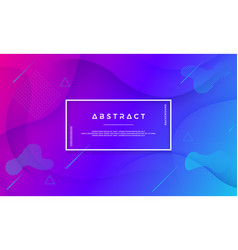 blue purple abstract background vector image