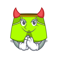 Devil cartoon shorts style for the swimming vector