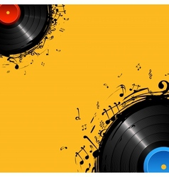 Musical Disc vector