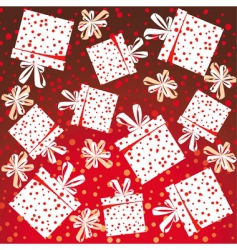 presents background vector image vector image