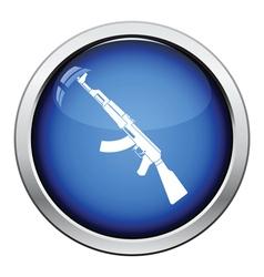 Rassian weapon rifle icon vector image