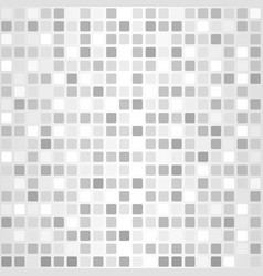 rounded square pattern seamless grey background vector image