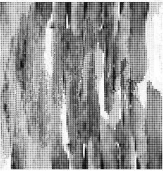 black halftone background vector image vector image