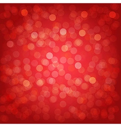Red Background With Bokeh vector image