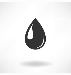 drop simple icon vector image vector image