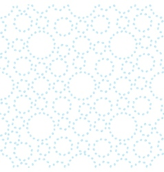 Watercolor abstract seamless background with dots vector image vector image