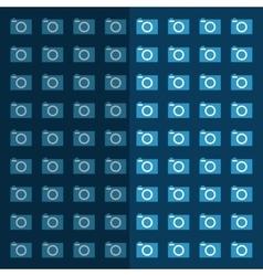 photographic camera equipment vector image