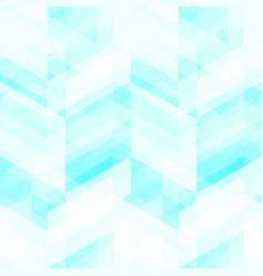 blue christal mosaic seamless pattern vector image