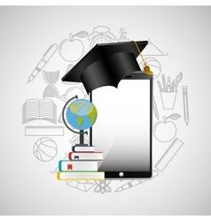 Eduation online concept achiviement learning vector