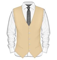 Formal wear for men vector