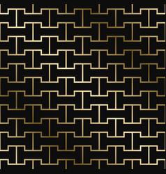 geometric creative pattern - art deco style vector image