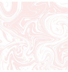 light white and pink marble texture liquid vector image