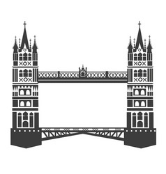 London tower bridge vector
