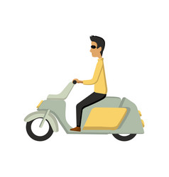 modern creative flat design vector image