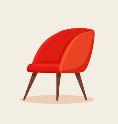 office chair cartoon vector image