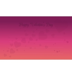 Valentine Day card with love backgrounds vector