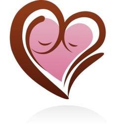motherhood icon and symbol vector image vector image