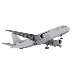 Commercial Aircraft 2 vector